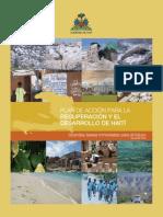 Plan de acción_Recuperación y Desarrollo Haití