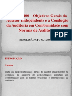 (3) Obj. Gerais Do Auditor [...] (NBC TA 200)