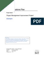 3.3.1 Example - Communications Plan, V1.0.1 (1)