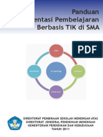 Buku Panduan Implementasi Pembelajaran Berbasis TIK Di SMA