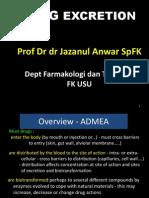 K5- Kuliah Drug Excretion 2010