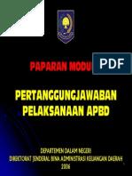 10. Paparan - Pertanggungjawaban Pelaks Apbd