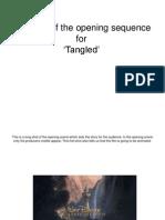 Opening Scene for Tangled