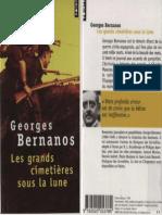 Bernanos Georges - Les grands cimetières sous la lune