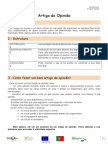 Ficha Informativa Estrutura Texto de Opinião