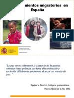 Los Movimientos Migratorios en Espana