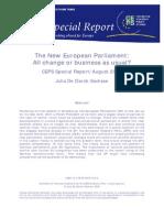New European Parliament