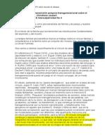 Ch Joubert.  Los efectos de la transmisión psíquica transgeneracional sobre el vínculo de alianza AMARILLO