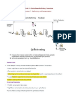 Lecture 7 Reforming and Isomerization