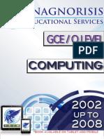 Computing O Level 2002 to 2008