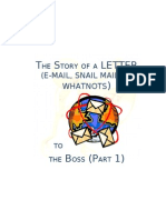 Letter to Boss