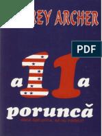 Jeffrey Archer - A 11-A Porunca