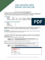 Breves Apuntes Matlab
