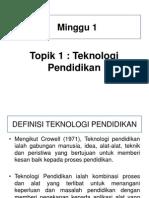 1. Teknologi Pendidikan