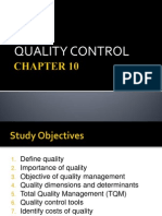 CHAPTER 10 - Quality Control