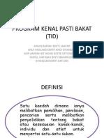 Program Kenal Bakat