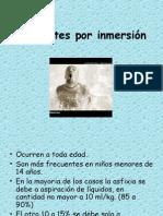 11. Accidentes Por Inmersion