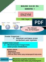 A. enzym