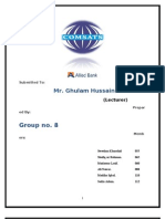 ABL FInal Group # 8-B 2