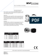 Selector Valve Technical Data Sheet