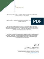 MCM 2013 Annual Report