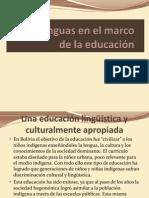 CNC CEPOS LENGUAS EN EL MARCO DE LA EDUCACIÓN