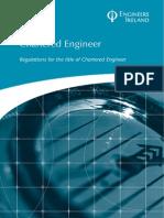 Chartered Engineer Regulations 2012
