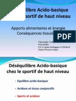 Alimentation Et e Quilibre Acido-basique SNOS 22-09-2012