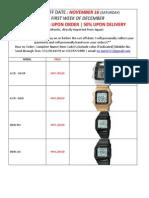 Casio Watches Updated