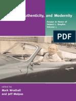 DREYFUS, Hubert L. Heidegger, Authenticity and Modernity - Essays in Honor of Hubert L. Dreyfus V1