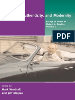 DREYFUS, Hubert L. Heidegger, Authenticity and Modernity - Essays in Honor of Hubert L. Dreyfus V1