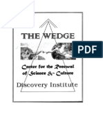 The Discovery Institute's Wedge Document
