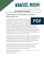 Por Que Terapia Cognitivo Conductual