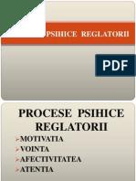 procesele psihice reglatorii
