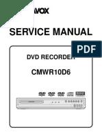 Magnavox CMWR10D6 Service Manual