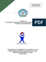 Panduan  OSN SMP 2014