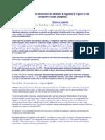 Analiza infracţiunilor informatice incriminate în legislaţia în vigoare şi din perspectiva noului cod penal