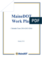 Maine DOT WorkPlan2014-2015-2016Final
