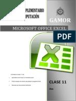 CLASE 11 - Ejercicio Aplicativo de Excel
