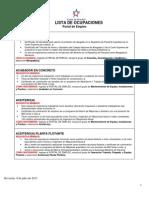 ACP - Listado de Empleos.
