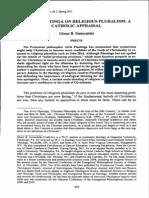 Alvin Plantinga Pluralism