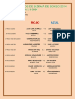 2ª ELIMINATORIA 1-3-2014