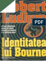Robert Ludlum - Identitatea Lui Bourne v.3.0
