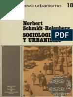 SOCIOLOGÍA Y URBANISMO