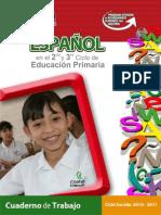 Español Primaria 2o y 3er ciclo
