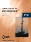 Power Generation System Life Cycle Assesment