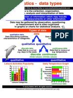 Unit 10 - Key Ideas (Statistics + Probability)