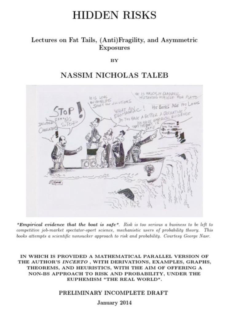 Hidden Risks By Nicholas Taleb Nassib Power Law Statistics