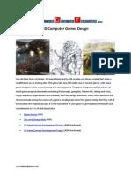 3D Games Design