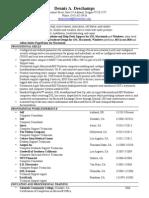 Résumé for IT Professional (g) (11-01-2013)